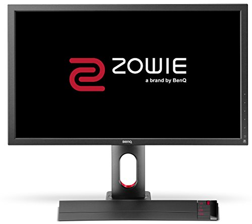 BenQ ZOWIE XL2720 68,58 cm (27 Zoll) e-Sports Gaming Monitor (Höhenverstellung, S Switch, Black eQualizer, 1ms Reaktionszeit, 144Hz) grau