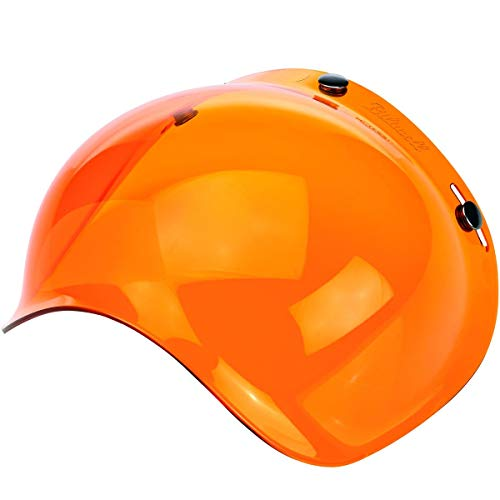 Biltwell unisex-adult (BS-ORG-AF-SD) Bubble Shield-Amber-Anti-Fog, One Size