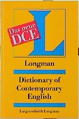 Longman Dictionary of Contemporary English (DCE) / Longman Dictionary of Contemporary English (DCE)