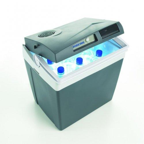 MOBICOOL K26 draagbare drankenkoeler met 25 elektrische thermo-elektrische dubbele aansluiting voor sigarettenaansteker 12 V DC - elektrische lattenbodem 230 V AC Energy Class A++ - ideaal voor auto mobiel, caravan, router, barche