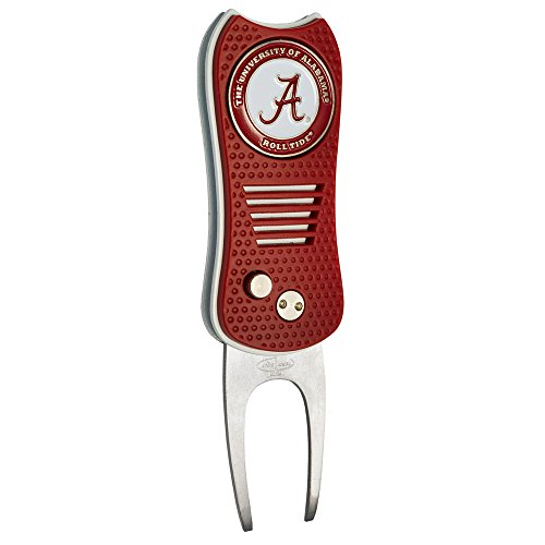 Best Price! Team Golf NCAA Alabama Crimson Tide Switchblade Divot Tool with Double-Sided Magnetic Ba...