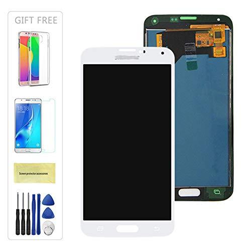 DINGMINGMING Reemplazar la Pantalla Prueba de LCD Apto for el Samsung Galaxy Ajuste for 4G i9600 S5 G900 G900M G900F Pantalla LCD de Pantalla táctil digitalizador Asamblea (G900H no es Compatible)