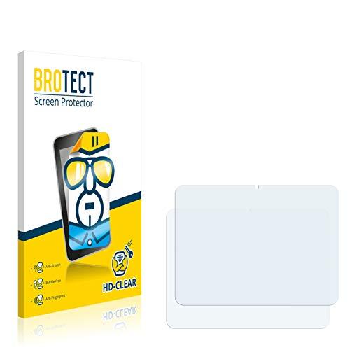 BROTECT Schutzfolie kompatibel mit Weltbild Tablet PC 4 (Ende 2012) (2 Stück) klare Displayschutz-Folie