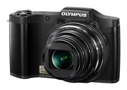 """Olympus Stylus Traveller SZ-11 Cámara compacta 14MP 1/2.3"""" CCD 4288 x 3216Pixeles Negro - Cámara Digital (14 MP, 4288 x 3216 Pixeles, CCD, 20x, HD, Negro)"""