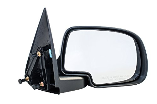 Passenger Side Non-Heated Manual Operated Mirror for Cadillac Escalade Chevy Silverado Suburban -