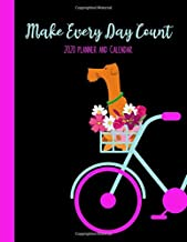 Make Every Day Count 2020 Planner and Calendar: Daily + Weekly I Time-Blocking Layout | Dog on a Bicycle Design