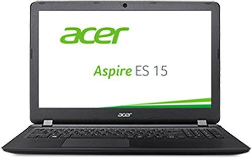 Acer Aspire ES 15 (ES1-572-54VY) 39,6 cm (15,6 Zoll HD) Laptop (Intel Core i5-6200U, 8GB RAM, 1000GB HDD, Intel HD Graphics 520, DVD, Win 10 Home) schwarz