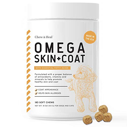 Top 10 best selling list for dog supplement for hair and skin