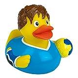 Quietsche-Ente Handball Badespaß Gummiente Quitschente Badeente Badespielzeug