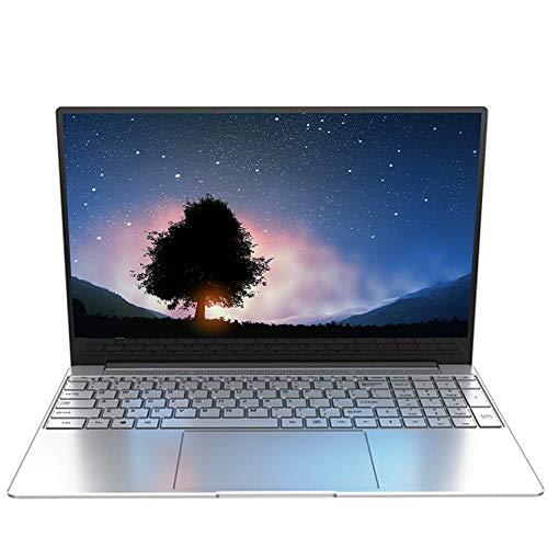 15.6 Zoll Notebook, Ordenador PC, Windows 10 Pro Betriebssystem, 1920 x 1080 IPS HD Display J4115 Quad Core CPU, 8 GB RAM, 128 GB ROM (Erweiterbarer Speicher 1 TB SSD), 5000 mAh Akku Y7