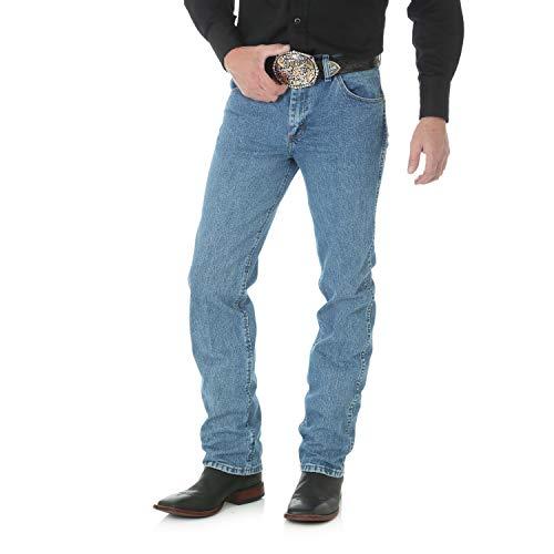 Wrangler Men's Premium Performance Cowboy Cut Slim Fit Jean, Stonewashed, 31W x 32L