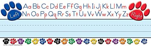 Teacher Created Resources - Placas de nombre de alfabeto izquierdo/derecha (4040)