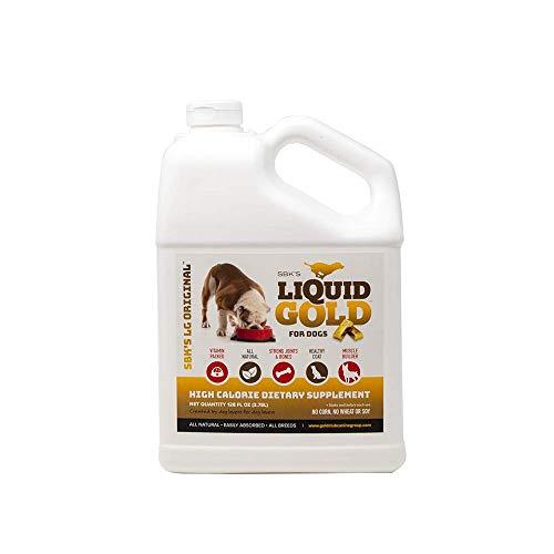 SBK'S Liquid Gold for Dogs- Gallon Bacon