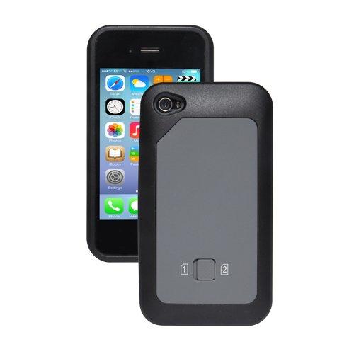 Thumbs Up TC404 - DUAL SIM Handy Tasche zum Umschalten iPhone 4/S SIM akzeptiert Micro & Standard SIMS