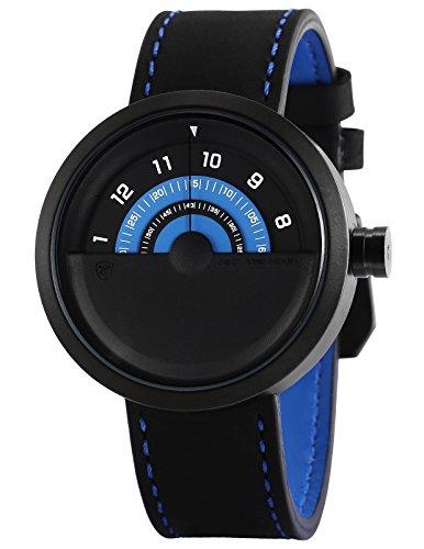 Shark SH422 Reloj Cuarzo Bonnethead Shark Creativo Hombre Dial Azul