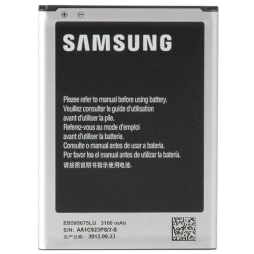Samsung Akkublock (Li-Ion, 3.100 mAh), kompatibel mit Galaxy Note 2 / Note 2 LTE