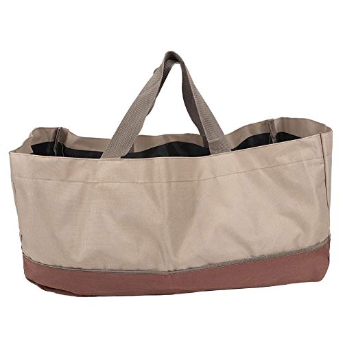 Eastbuy Wood Carrier Bag - Durable Firewood Holder Twigs Branch Storage Bag Large Capacity Oxford Cloth Logs Carrier Bag
