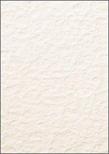 SIGEL DP244 Struktur-Papier / Karton Papyra, A4, 50 Blatt, Motiv beidseitig, 200 g - viele Modelle