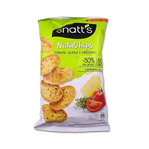 Snatt´s NatuChips Sabor a Tomate, Queso y Orégano - 65g