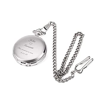 Best stainless steel pocket watch Reviews