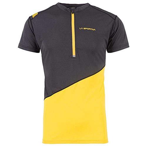 LA SPORTIVA Limitless T-Shirt M Maglietta Uomo, Uomo, Maglietta, J91999100, Nero Giallo, M