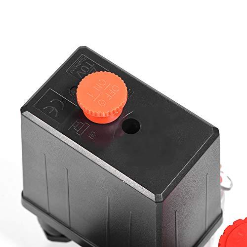 Válvula de compresor de aire, compresor de aire pequeño, compresor de aire, interruptor de presión del compresor de aire, interruptor de presión del compresor para el hogar