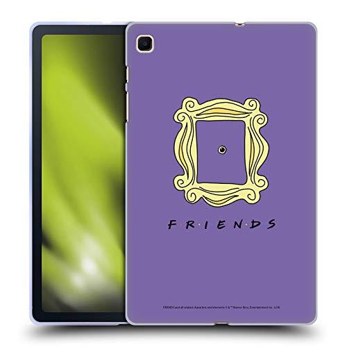 Head Case Designs Licenciado Oficialmente Friends TV Show Marco Mirilla Icónico Carcasa de Gel de Silicona Compatible con Samsung Galaxy Tab S6 Lite