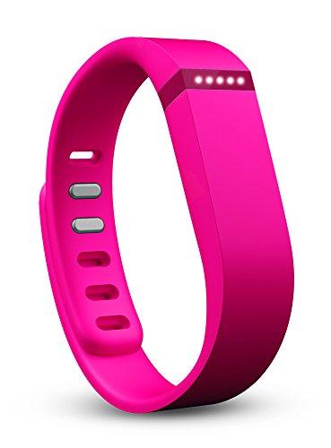 fitbit activity tracker devices Fitbit Flex Wireless Activity Plus Sleep Wristband, Pink