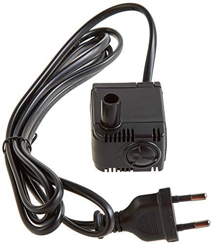 sera 30599 Filter- & Förderpumpe FP 150 regelbar für Süß- & Meerwasser (Qmax: 150 l/h Hmax: 0,60 m bei 2,5 Watt mit EU-Stecker & 11mm Schlauchstutzen sowie 1,8m Netzkabel) und Ersatz für cube 16 l