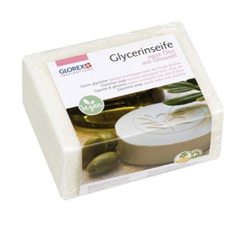 GLOREX 6 1600 glycerine-zeep eco met olijfolie 500g opa.