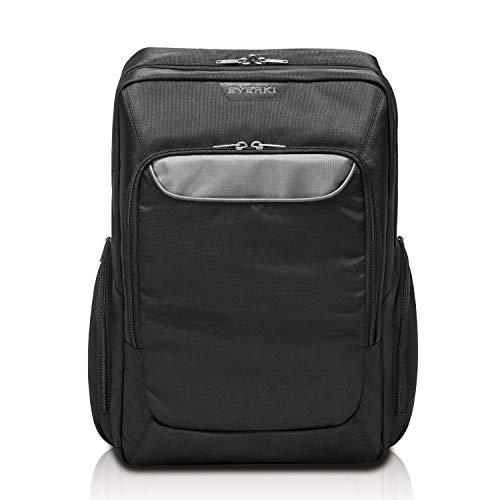 EVERKI Advance - Laptop Rucksack für Notebooks bis 15,6 Zoll mit gepolsterten Schultergurten, versteckten Geheimfach, Trolley-Lasche, ergonomischen Rückenpolster und selbstheilende Reißverschlüsse