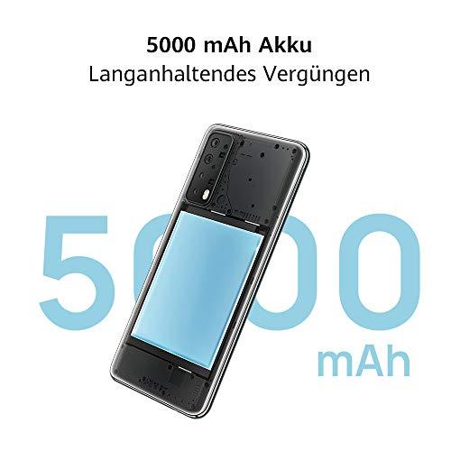 HUAWEI P smart 2021 Dual SIM Smartphone (16,94 cm - 6,67 Zoll, 128 GB interner Speicher, 4 GB RAM, Android 10 AOSP ohne Google Play Store, EMUI 10.1) crush green + 5 EUR Amazon Gutschein - 4