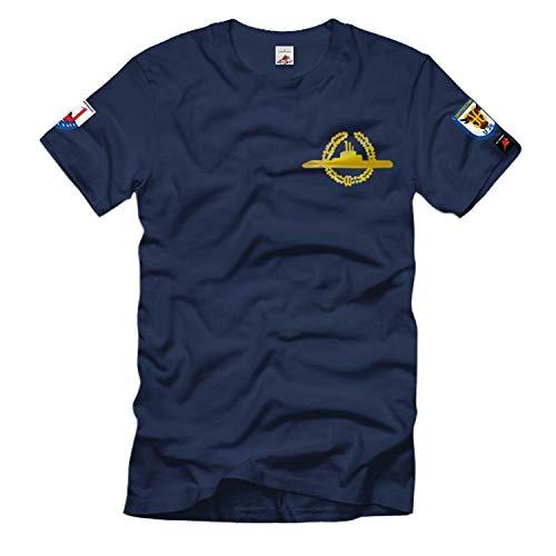 1 Ubootgeschwader U26 S175 U-Boot Bundes-Marine Bundeswehr T-Shirt #36535, Größe:XL, Farbe:Dunkelblau
