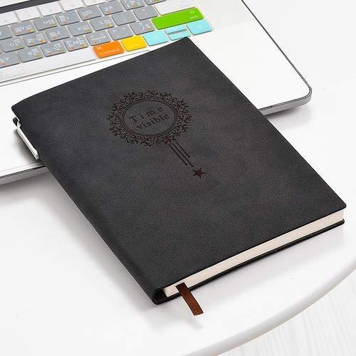 Ovejas calidad de piel cubierta de la libreta de la vendimia diario del cuaderno de notas de diario planificador de la agenda del cuaderno cuero de la PU Sketchbook dljyy
