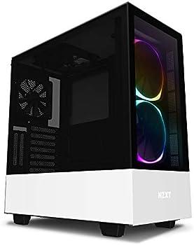 NZXT H510 Elite CA-H510E-W1 Premium Mid-Tower ATX PC Gaming Case
