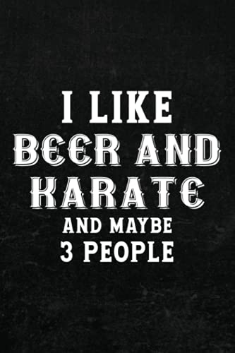 Comic Drawing Book - I like beer and karate and maybe 3 people vintage Family: Create, Write Stories Your Own Comics,Cartoon / Blank Comic Book ... Artist, Kids and Adults to Unleash Creativity