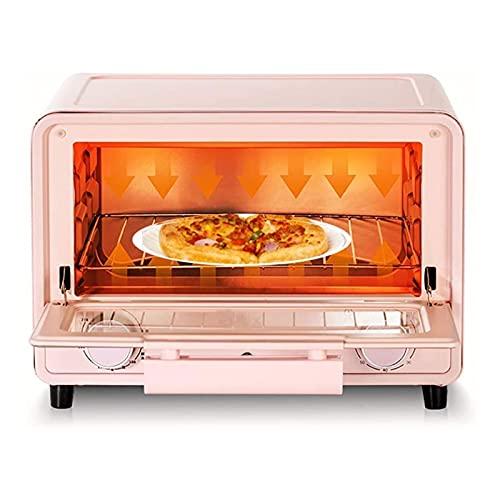 UOOD Horno eléctrico Mini Huevo Tarta Horno Multifuncional Horno automático 13 litros Gran Capacidad, 3 en 1 Máquina de Desayuno Multifunción Horno de Pizza