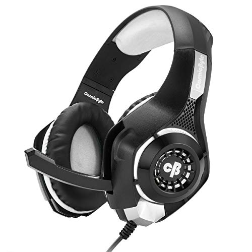 Cosmic Byte GS410 Headphones with Mic and for PS5, PS4, Xbox One, Laptop, PC, iPhone and Android Phones (Grey)