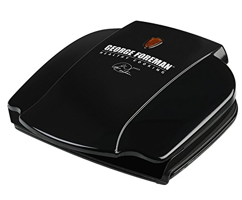 George Foreman ジョージフォアマン GR0036B Electric Grill,Black,36 Sq. In. Cooking Surface グリル [並行輸入]