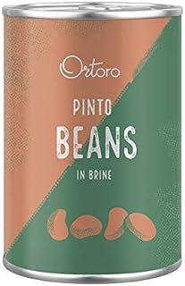 Ortoro - Lot de 12boîtes de haricots pinto, 400g