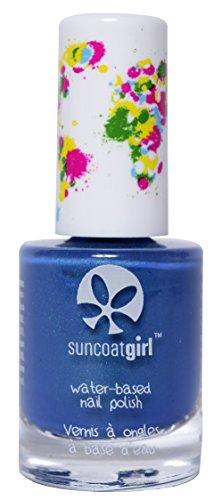Suncoat Girl nagellak voor kinderen Apple Blossom blauw (Mermaid Blue) 8 ml Mermaid blauw