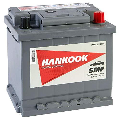 Hankook MF54459 44Ah Batterie de Démarrage Pour Voiture 12V 390A 207x175x190mm