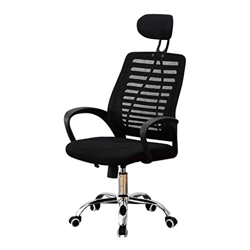 CCAN E-Sport Office Chair Home Desk Chair Student Modern Minimalist Back Game Desk Chair Dormitory Chair Leisure Tables and Chairs (Color : White, Size : 62cm62cm126cm)