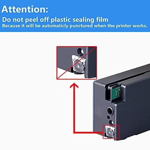 LCL Cartucho de Tinta Compatible 711XL 711 XL CZ130A Pigment (1Cian) Reemplazo para HP Designjet T120 24/T120 610/T520 24/T520 36/T520 610 T520 914 /T125 24