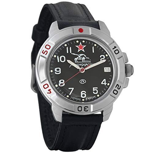 Vostok Komandirskie Russian Mens Military Mechanical Wrist watch #431306