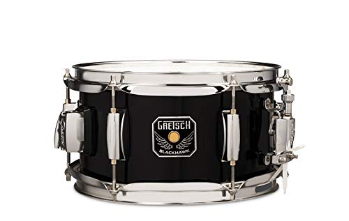 "Mighty Mini Snare 10""x5,5"", Black, incl. GTS Mount"