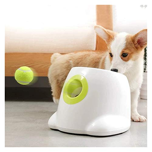 3°Amy Schnüffelteppich für Hunde Automatischer Ball-Launcher-Hundekugel-Werfer-Maschine-Hyper-Fetch-Tennisball.Haustierspielzeug #a