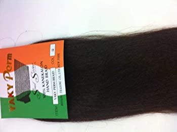 Soul Sister Yaki Perm Braiding Hair Yaki Perm for Braiding  #4  Medium Brown   by Soul Sister Yaki Perm