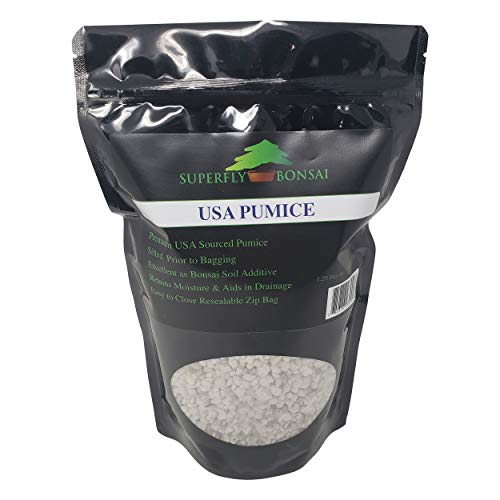 Bonsai Pumice - Professional Sifted and Ready to Use American Bonsai Pumice -...