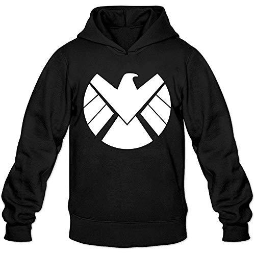Greenday Men's Hoodie Agent of Shield Logo Black